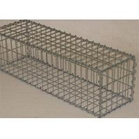 Welded Retaining Wall Gabion Baskets Customized Size Long Life Span Manufactures