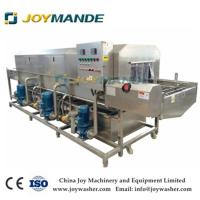 High Quality Meat Tray Washing Cleaning Machine Meat Pallet Washing Cleaning Machine Manufactures