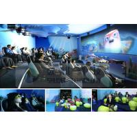 Mini Outdoor Mobile 4D Cinema System With Motion Chair And Circular / Globular Screen Manufactures