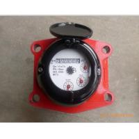 Brass Multi Jet Domestic Water Meter Hot With End Flange / BSP LXSR-50E Mechanism Manufactures