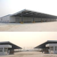 Hot Sale Cheap Metal Storage Sheds of Steel Structure with large span Manufactures