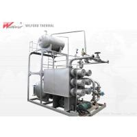 China Hotel Heat Transfer Oil Boiler Fast Installation Explosion Proof Structure on sale