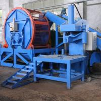 Single Shaft Tyre Rubber Recycling Equipment Three Phase 380V 50Hz Manufactures