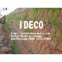Pavement Reinforcement Road Mesh, Reinforced Gabion Retaining Wall, Reinforced Hexagonal Wire Mesh Netting Manufactures