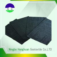 Recycled/Virgin PP 160kN  Split Film Woven Geotextile For Railway Project 740gsm Manufactures