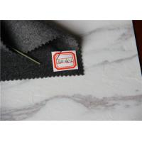 Quality One Sided Heavy Coating Wool Fabric Grey 50W 10P For Suit / Winter Overcoat for sale