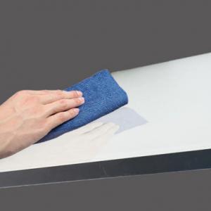 China 1MM High Glossy  white Acrylic sheet  Laminated MDF Shanghai Setting on sale