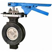 DIN, JIS Carbon Steel Resilience-seated High Performance Flanged Butterfly Valves 600lbs Manufactures