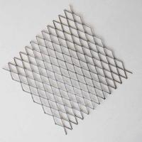 China CE Expanded Wire Mesh , Flattened Expanded Metal Mesh For Police Station Fence on sale