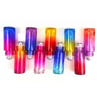 China Customized Gradient Glass Roller Bottles For Essential Oils 5ml 10ml 15ml on sale