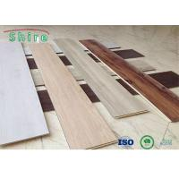 China Click Lock SPC Vinyl Plank Flooring 4mm 5mm 6mm For Indoor Decoration on sale