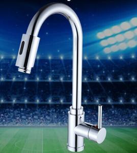 kitchen tap pull out sensor kitchen faucet