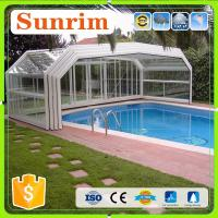 Family&Business Use Automatic Telescopic Swimming Pool Enclosures/Pool Cover Manufactures