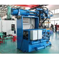 Sensor Control Horizontal Rubber Injection Molding Machine 550 Ton Dual Stages Feeding System Manufactures