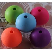 silicone ice sphere for cocktails wine ,cute shape silicone ice pop maker Manufactures