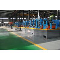 Automatic Diameter 13-50 x 0.6-2 mm steel plate ERW pipe mill line workshop machine to make square tube Manufactures