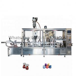 China 4 Lanes K Cups Plc Coffee Capsule Sealing Machine on sale
