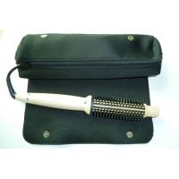 Personal Silver Electric Hair Curler Comb For DIY Hair Anti Static , Ceramic Coated Barrel Manufactures