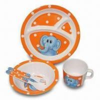 Plate/Dish Set, Made of Melamine Material, Available in Various Sizes, Colors and Designs Manufactures