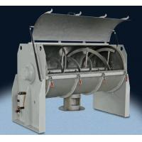 China Food Mixing Tanks Horizontal Powder Ribbon Mixer , Liquid Powder Mixing Equipment on sale