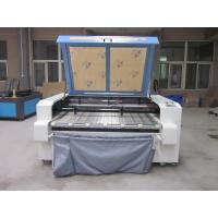 China Laser Fabric Cutter CO2 Laser Cutting Engraving Machine , Laser Power 100W on sale