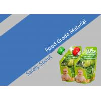 Laminated Safe Spout Pouch Packaging Reusable Baby Food Pouches Manufactures