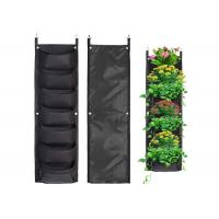 Vertical Hanging Wall Felt Garden Planter with Roomy Pockets for Herbs Or Flowers Manufactures
