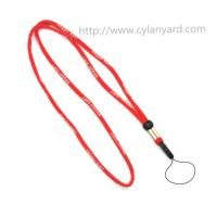 Elastic round rope cord phone holder lanyard with adjustable toggle, comfortable to wear, Manufactures