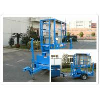 Hydraulic Trailer Mounted Boom Lift 8 Meter For Outdoor Maintenance Work Manufactures