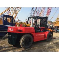 Triple Mast Japanese Used Diesel Forklift 15 Ton Toyota FD150 1.8m Length Manufactures