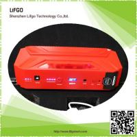 12V16500mAh portable rechargable li-po battery pack car emergency jump starter power Manufactures