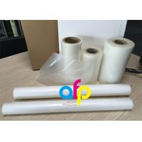 PET Polyester Roll Laminating Film SGS Approval Double Side Corona Treatment Manufactures