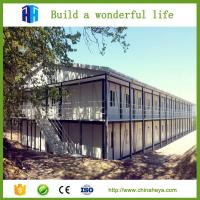 China easy assembly movable house prefab steel homes sleeping rooms on sale