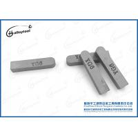 Durable YG6 Type F225 Cemented Carbide Brazed Tips For Milling Medium Particle Manufactures