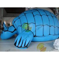 Funny Inflatable Pool Turtle , Amusement Park Giant Inflatable Animals Manufactures