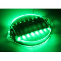 Outdoor Pathway Solar Barricade Lights Underground Lighting High Intensity 16 LEDs PC Shell IP68 Manufactures