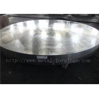 OD1935mm Carbon Steel ASTM A105 Forged Disc Normalized Heat Treatment Manufactures