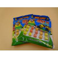 Mini Round Colorful Mixed Chewing Gum Candy For Kids 12g Bag Packed Manufactures