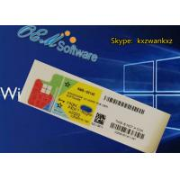 Customize FQC Windows 10 Home Coa Sticker With Oem Activation Key Blank COA Manufactures
