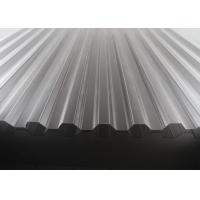 China High Transparency Corrugated Polycarbonate Sheets For Skylights 10 Years Warranty for sale