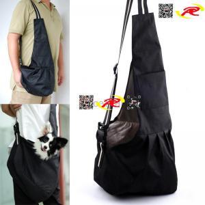Pet Dog Cat Carrier Single-shoulder Strip Sling Stroller Bag Tote Oxford pet bag luggage Manufactures