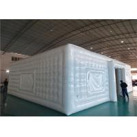 Buy cheap White Advertising Airtight Inflatables Cube Tent For Big Event Occasion from wholesalers