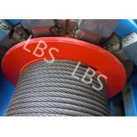 Customized 8 Ton Load Offshore Winch 50 Meter With Lebus Grooving For Digging Well Manufactures
