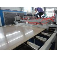 Quality PVC Crust Foam Plastic Sheet Extrusion Line Automatic Haul off unit for sale