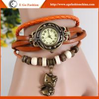 Bear Pendant Watch Leather Hello Kitty Watches Retro Watch Vintage Watch Female Bracelet Manufactures