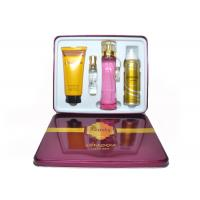 Red Beauty Womens Fragrance Sets , Gift Set Perfume Set For Couple Manufactures