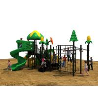 Nylon Rope Kids Play Equipment Outdoor With Climbing Nets Galvanized Manufactures