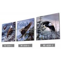 Frameless PET 3d Lenticular Image / Animal 3d Lenticular Christmas Cards For Decoration Manufactures