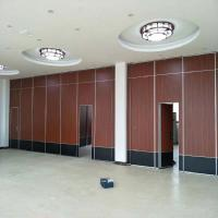 China Removable Wooden Folding Acoustic Partition Walls Sliding Operable Partitions For Conference Hall on sale