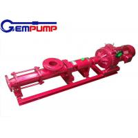 G  type stainless steel Small Screw Pump explosion-proof 0~150m³/h Flow Manufactures